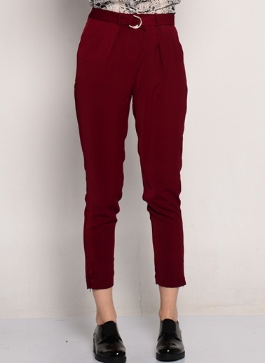 Goldie Pantolon Bordo